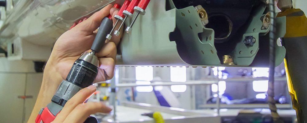 Stahl Stellenausschreibung Fluggerätebauer